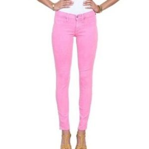 Henry & Belle Pink Super Skinny Ankle Stretch Jean